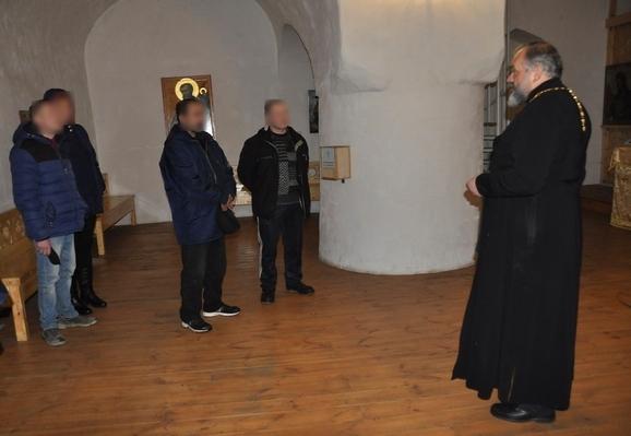 С осужденными состоящими на учете в УИИ встретился представитель духовенства